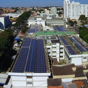 Concluída usina solar fotovoltaica do HC-UFTM, a maior dos hospitais universitários federais